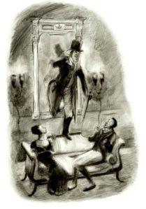 Strange surprises Drawlight and Mrs. Bullworth.