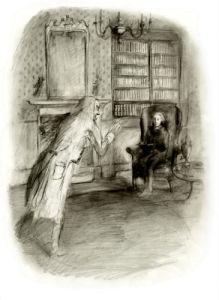 Vinculus tells Mr. Norrell's destiny.