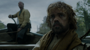 Tyrion and Jorah in Valyria.