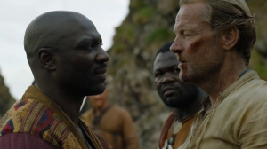 In all of Essos, I don't think we've seen even one white slaver yet.