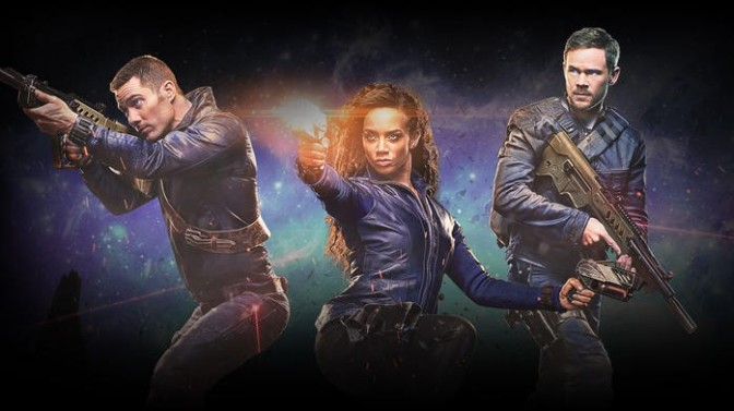 Killjoys seems like a worthy successor to Firefly in the fun space opera genre
