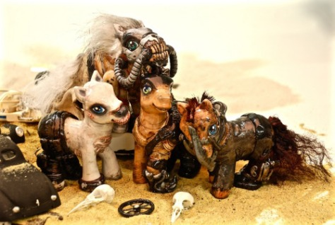 Mad Max: Fury Road modded ponies