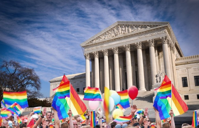 The Supreme Court of the US ruled for marriage equality!
