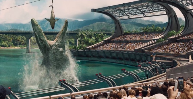 Jurassic World is exactly what I expected it to be