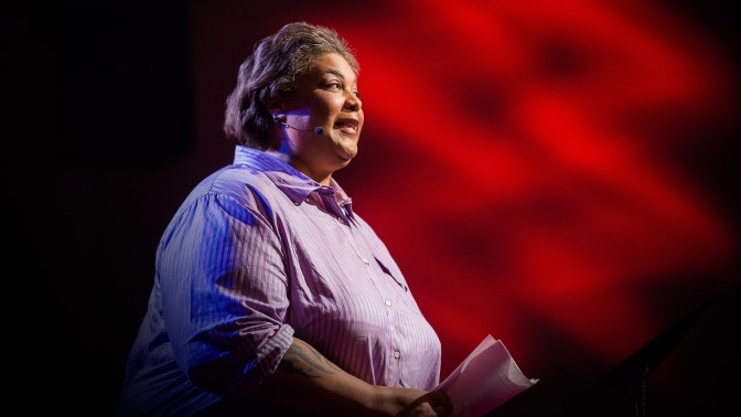 Roxane Gay's TED Talk is the best 11 minutes of video you could put in your eyeballs today