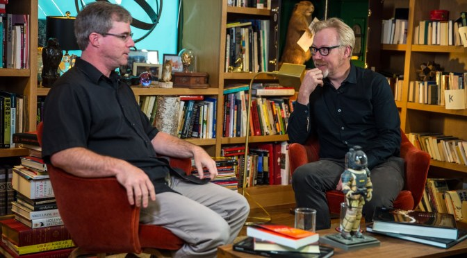 Adam Savage Interviewing Andy Weir is the best 55 minute nerd fest you should watch right now