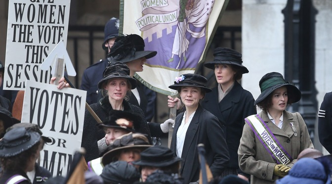 The first full-length trailer for Suffragette looks amazing