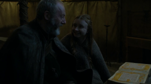 The last happy moment in all of Game of Thrones, probably.