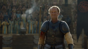 Jorah wins his fight.