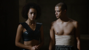 I love Missandei's new costume.
