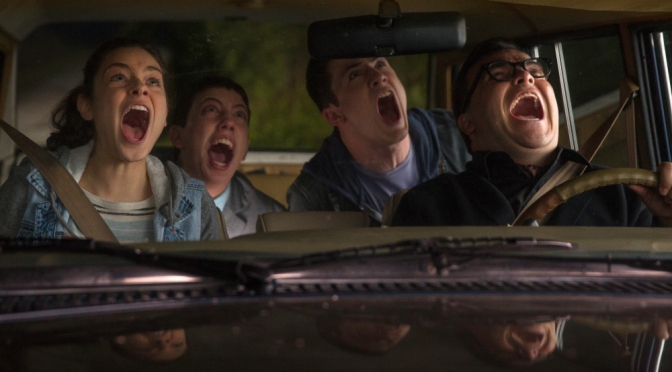The Goosebumps trailer is wild… and it looks good?