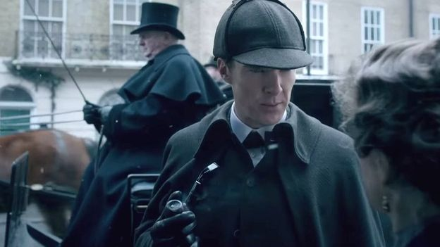 A first look at the upcoming Sherlock special