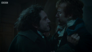Jonathan Strange assaults Lascelles.