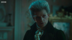 Marc Warren gives great face as the Gentleman in this episode.
