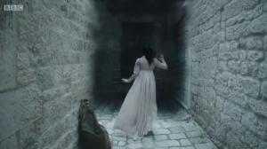 Flora Greysteel enters the darkness.