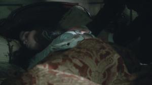 Lady Pole sleeps at Starecross.