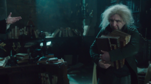 Sacrificing Norrell's books is not a popular idea.