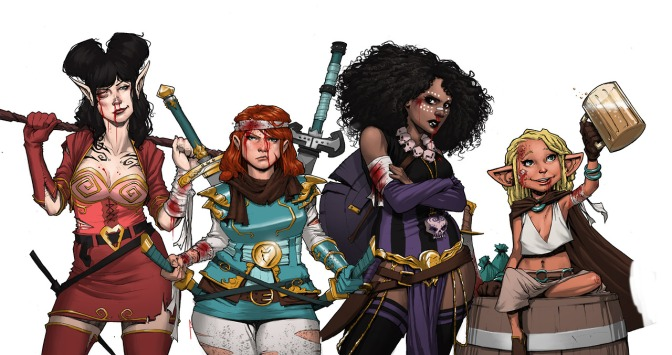 Book Review – Rat Queens, Volume 1: Sass and Sorcery