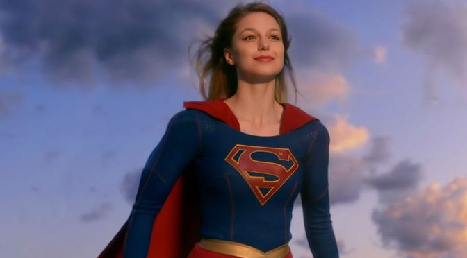 Supergirl: I'm only half in love with this show, but it's still early