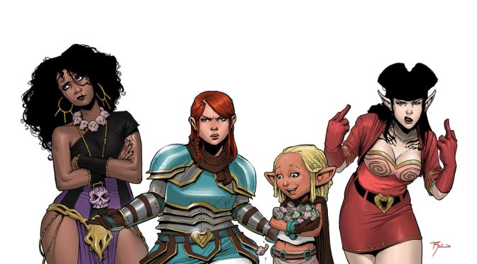 Book Review: Rat Queens, Volume 2: The Far-Reaching Tentacles of N'Rygoth + Braga #1