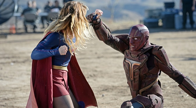 """Supergirl: """"Red Faced"""" is mostly an embarrassment"""