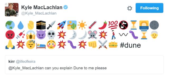 KyleMacLachlanDuneTweet