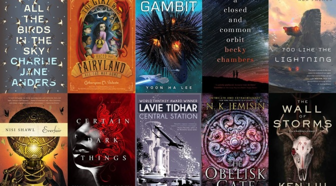 The Best of 2016: Novels