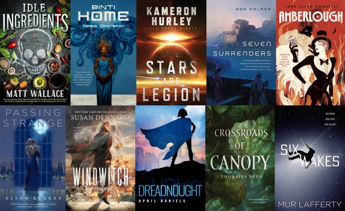 The SF Bluestocking 2017 Winter Reading List