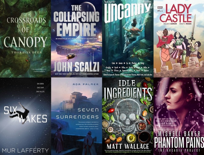 The SF Bluestocking Winter 2017 Reading List Wrap-Up