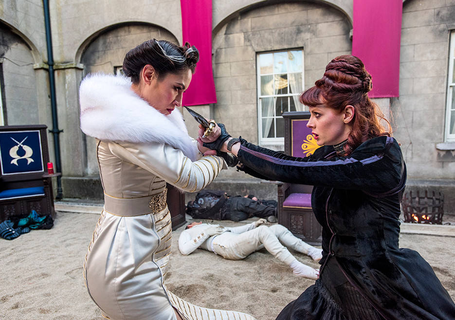 Into the badlands cast barrons wife sexual dysfunction