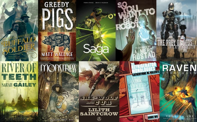 The SF Bluestocking Spring Reading List