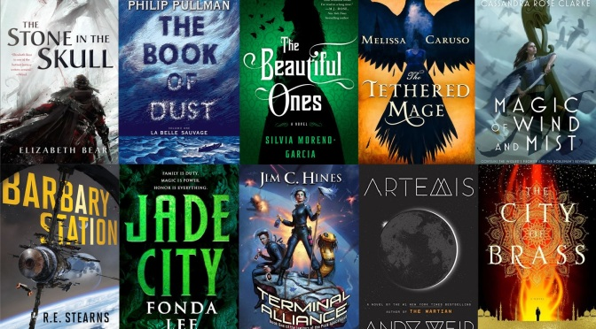The SF Bluestocking 2017 Fall Reading List