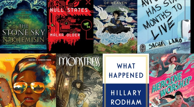 The SF Bluestocking Summer 2017 Reading List Wrap-Up