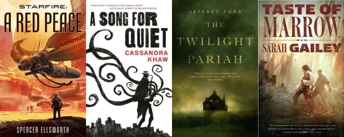 Recent Reads: Space Opera, Cosmic Horror, Hippo Mayhem and More from Tor.com