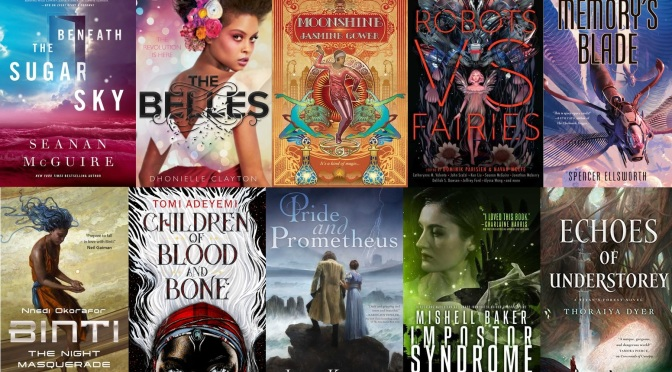 The SF Bluestocking 2018 Winter Reading List