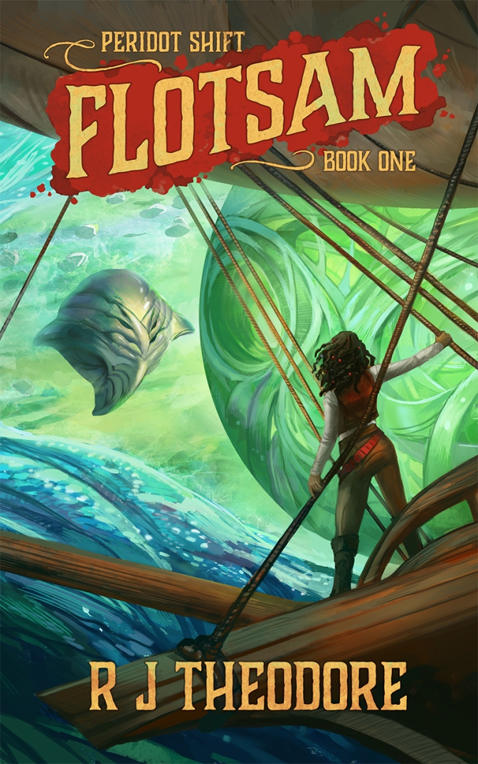"Guest Post: ""How Dare We Escape"" by R.J. Theodore, Author of FLOTSAM"