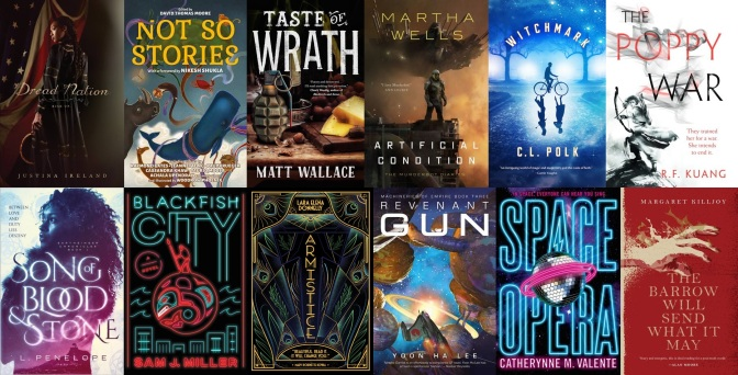 The SF Bluestocking 2018 Spring Reading List