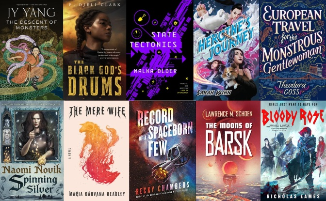 The SF Bluestocking 2018 Summer Reading List