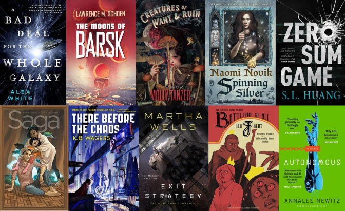The SF Bluestocking 2018 Fall Reading List